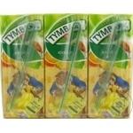 Băutura cu conținut de suc de fructe exotice Tymbark 0,2l