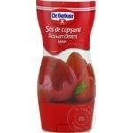 Topping căpșuni Dr. Oetker 200g