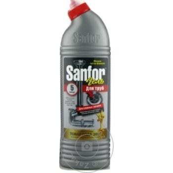 Solutie pentru desfundare tevi Sanfor 750ml - cumpărați, prețuri pentru Metro - foto 1