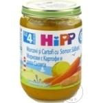 Пюре HiPP сёмга/картошка/морковь 190г