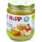 Pireu HiPP măr/mango cu cremă de brânză 7+luni 160g