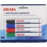 Marker pentru whiteboard Sigma 4buc - cumpărați, prețuri pentru Metro - foto 3