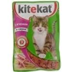 Hrană pentru pisici Kitekat miel 85g