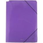 Папка Erich Krause пластиковая с резинкой А4