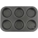 Форма для выпечки маффинов Ertone ERT570 на 6 шт