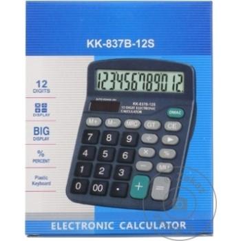 Калькулятор KD-8837A Kenko - купить, цены на Метро - фото 1