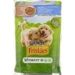 Hrana pentru câini Friskies Junior pui/morcov 100g