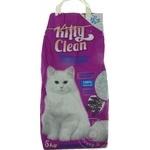 Наполнитель для кошачьего туалета Kitty Clean 5кг