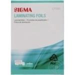 Пленка для ламинирования Sigma LF-580 100шт